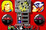 Rock n' Roll Racing Game Boy Advance Race menu. I will see if I can upgrade.