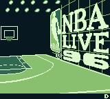 NBA Live 96 Game Boy Title screen