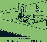 NBA Live 96 Game Boy SWISH! Chicago scores!