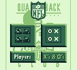 NFL Quarterback Club '95 Game Boy Play as players or Xs and Os?