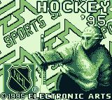 NHL 95 Game Boy Title screen