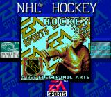 NHL 95 Game Boy Title screen (Super Game Boy)
