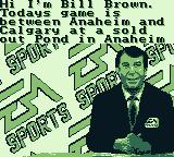 NHL 95 Game Boy Hi I'm Bill Brown.