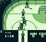 NHL 95 Game Boy A penalty has been called for icing.