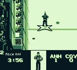 NHL 95 Game Boy A face off has been called.
