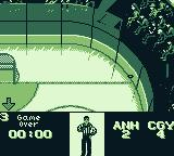 NHL 95 Game Boy Game over