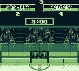 NHL 95 Game Boy The final score.