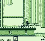Ninja Spirit Game Boy He got me. I lost a life.