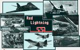 Red Lightning Amiga Title screen