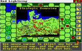 Red Lightning Amiga Strategic overview