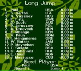 Olympic Summer Games SNES Next: The long jump