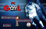 PC Gol DOS Main menu