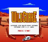 WildSnake Game Boy Title screen (US version) (Super Game Boy)