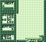 WildSnake Game Boy I've created a snake pile. Another snake is descending.