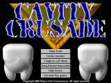 Cavity Crusader Windows Main menu