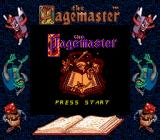The Pagemaster Game Boy Title screen (Super Game Boy)