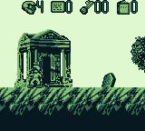 The Pagemaster Game Boy Starting a level in Horror World. Scary.