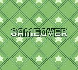Puzzle Star Sweep Game Boy I chose not to continue. Game over.
