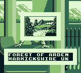 PGA European Tour Game Boy I will play at the Forest of Arden in Warwickshire, UK.
