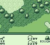 PGA European Tour Game Boy I landed in the rough.