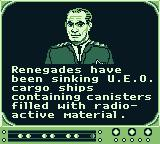 SeaQuest DSV Game Boy Your first mission.