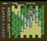 Nobunaga's Ambition SNES Battle has begun.