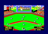 The Slugger Amstrad CPC The match begins
