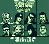 WWF Raw Game Boy Who will you be?
