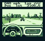 Race Days Game Boy 4 Wheel Drive: End of the race and I win.