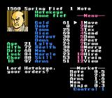 Nobunaga's Ambition NES What are your orders?