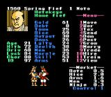 Nobunaga's Ambition NES I made a pact with fief 2.