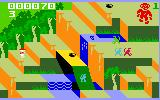Congo Bongo Intellivision Gameplay on the first level