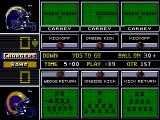 NFL 98 Genesis Select your kickoff play.