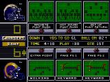 NFL 98 Genesis Choose your extra point play.
