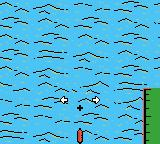 Black Bass: Lure Fishing Game Boy Color Ready to cast using a shallow runner.