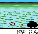 Black Bass: Lure Fishing Game Boy Color Here fishy, fishy!