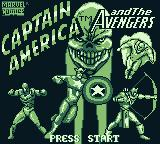 Captain America and the Avengers Game Boy Title screen