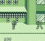 Captain America and the Avengers Game Boy Starting the game as Captain America.