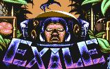 Exile Commodore 64 Title screen