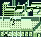Captain America and the Avengers Game Boy Starting scene 2 with Hawkeye.