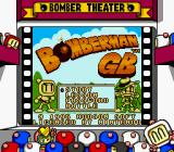 Bomberman GB Game Boy Title screen (US version) (Super Game Boy)