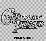 Cutthroat Island Game Boy Title screen