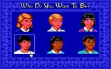 Mixed Up Fairy Tales DOS Choose your kid. (EGA/Tandy)