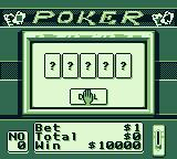 Casino FunPak Game Boy I need to plunk in a coin.