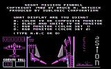 Night Mission Pinball PC Booter Opening Title / Display Options