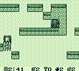 Pocket Bomberman Game Boy I cleared the area and am exiting.