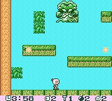 Pocket Bomberman Game Boy Color The Forest boss.