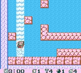 Pocket Bomberman Game Boy Color Caught in the waterfall.