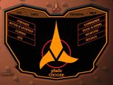 Star Trek: Klingon Windows Klingon Language Lab main menu