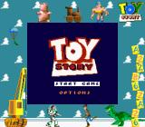 Disney's Toy Story Game Boy Title screen (Super Game Boy)